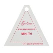 "Sew Easy Mini Tri Ruler 2.8"" x 2.5"""